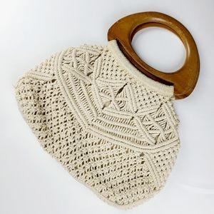 《Vintage》 macrame boho purse